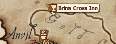 Map of Brina Cross